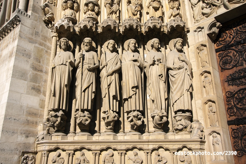 Last Judgment Portal (c.1230): Apostles