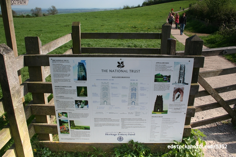 National Trust Sign