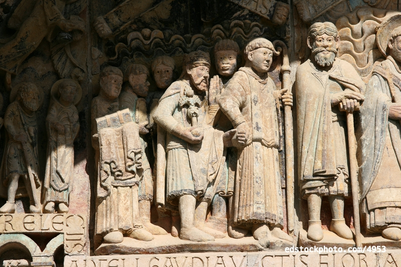 Dadon, Abbot and Charlemagne
