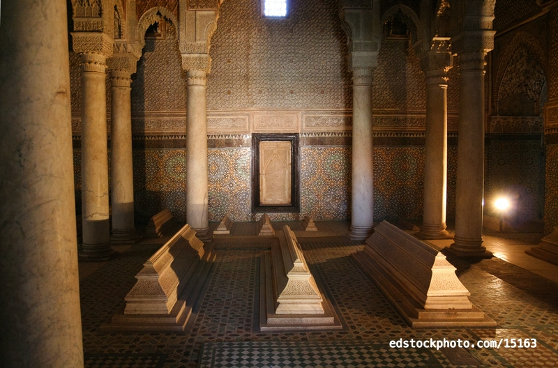 Saadian Tombs: Interior
