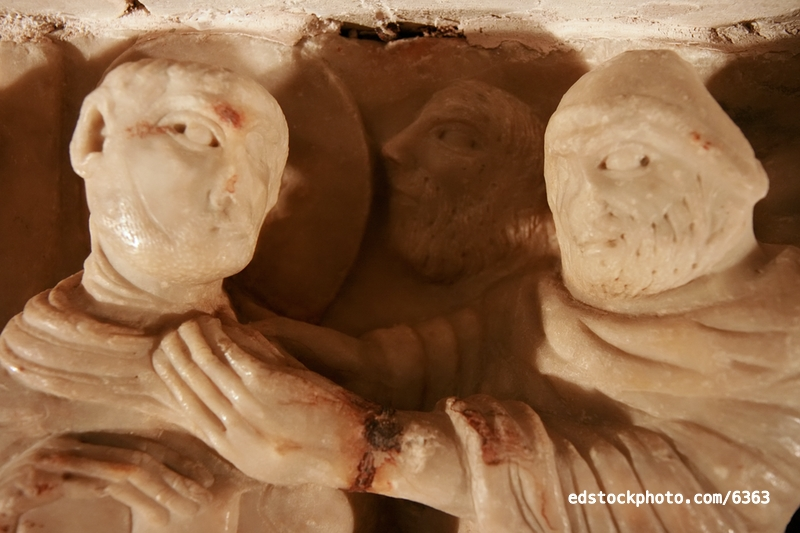 Sarcophagus of St. Sernin: Arrest of St. Sernin