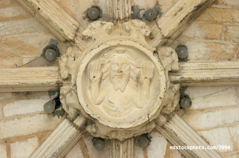 South Porch Roof Boss: Christ