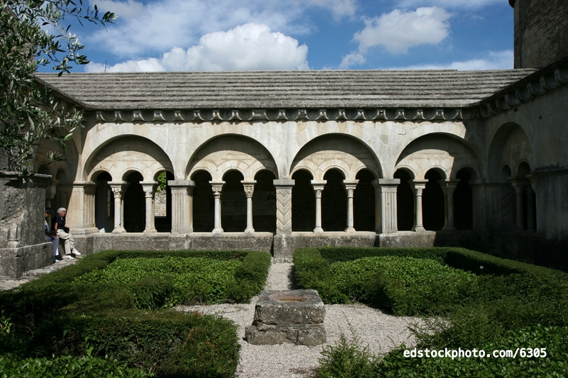 East Gallery of the Cloister
