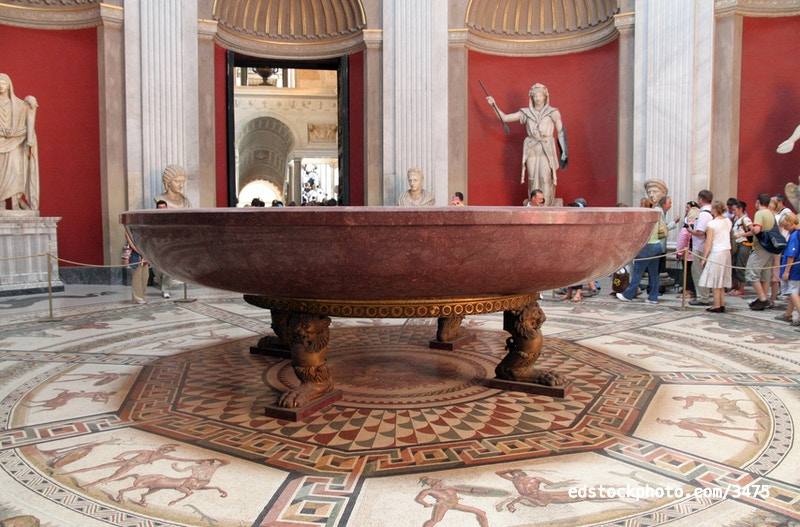 Nero's Porphyry Bathtub
