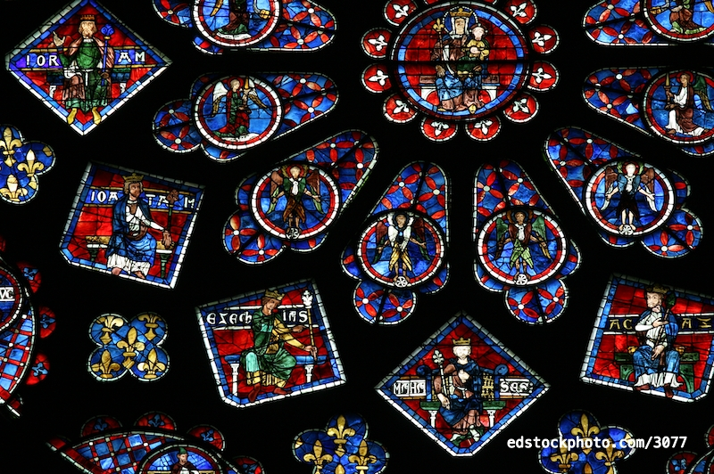 North Rose Window (1230)